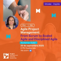 Agile Project Management:  From Scrum to Scaled Agile and Disciplined Agile